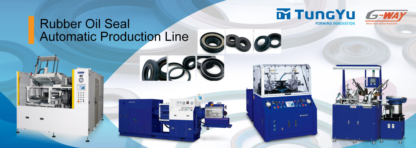 Rubber oil seal automatic production line